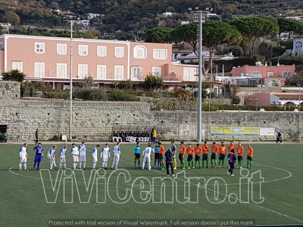 Eccellenza- Real Forio sconfitta di rigore al 92' contro il Casoria