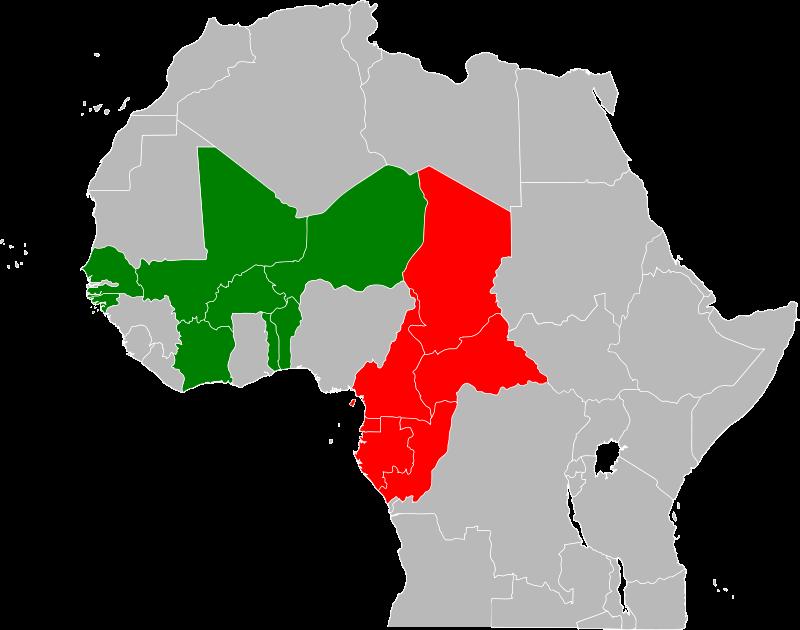 Paesi della zona subsahariana