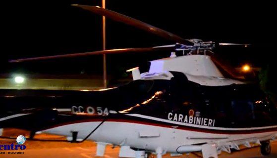 Carabinieri, elicottero