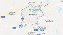 Cartina di Ravenna