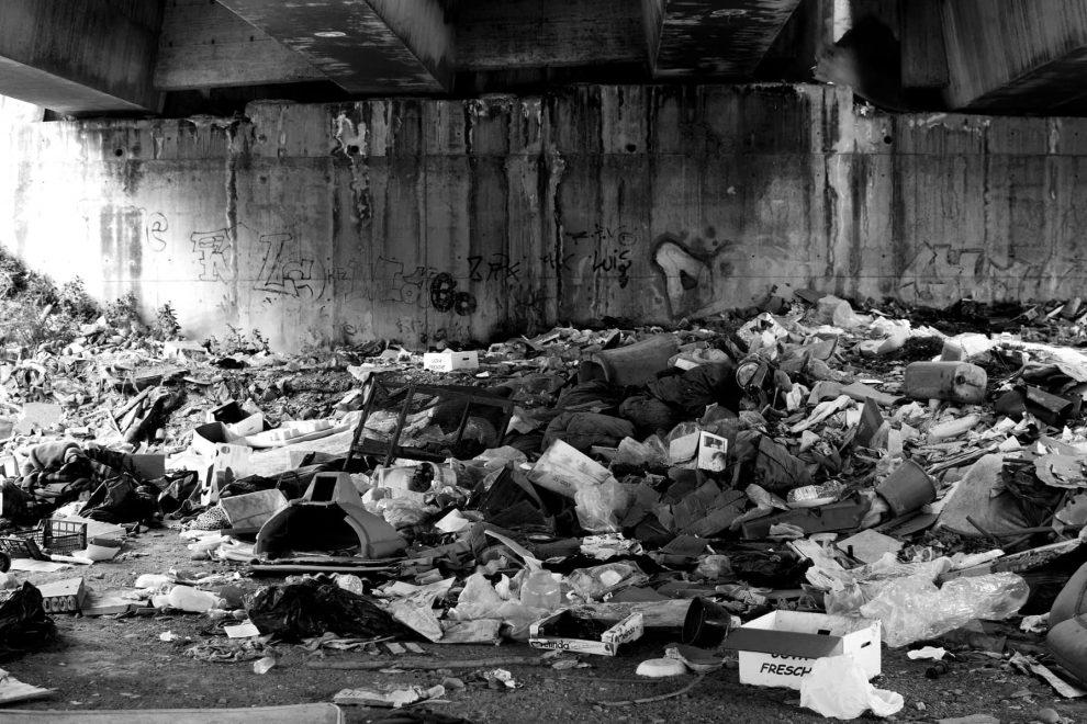 Catania rifiuti, foto di samuele formichetti