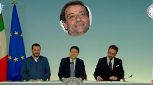 Conferenza Salvini, Conte, Bonafede su Battisti
