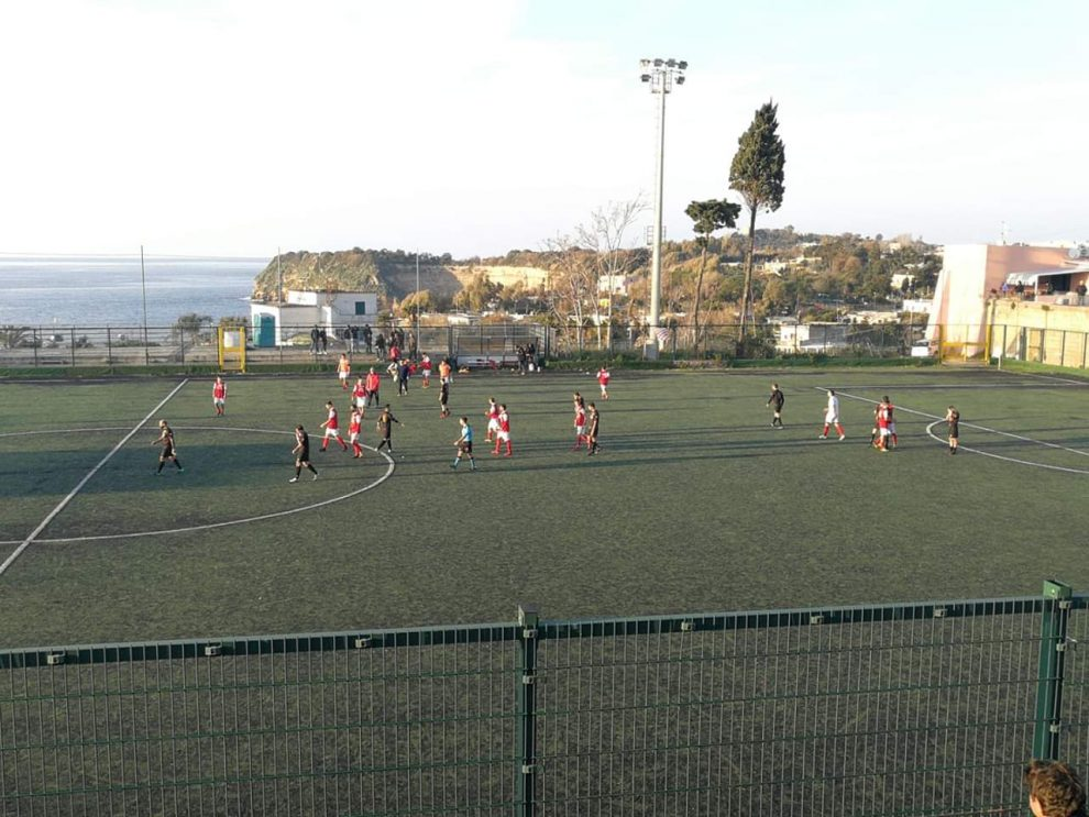Il Procida riacciuffa il Sant'Antonio Abate nel finale con Scippa e Pianese è 2-2