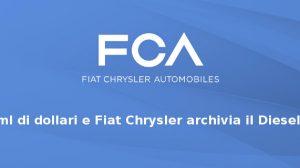 Fiat Chrysler Automobilese il Dieselgate