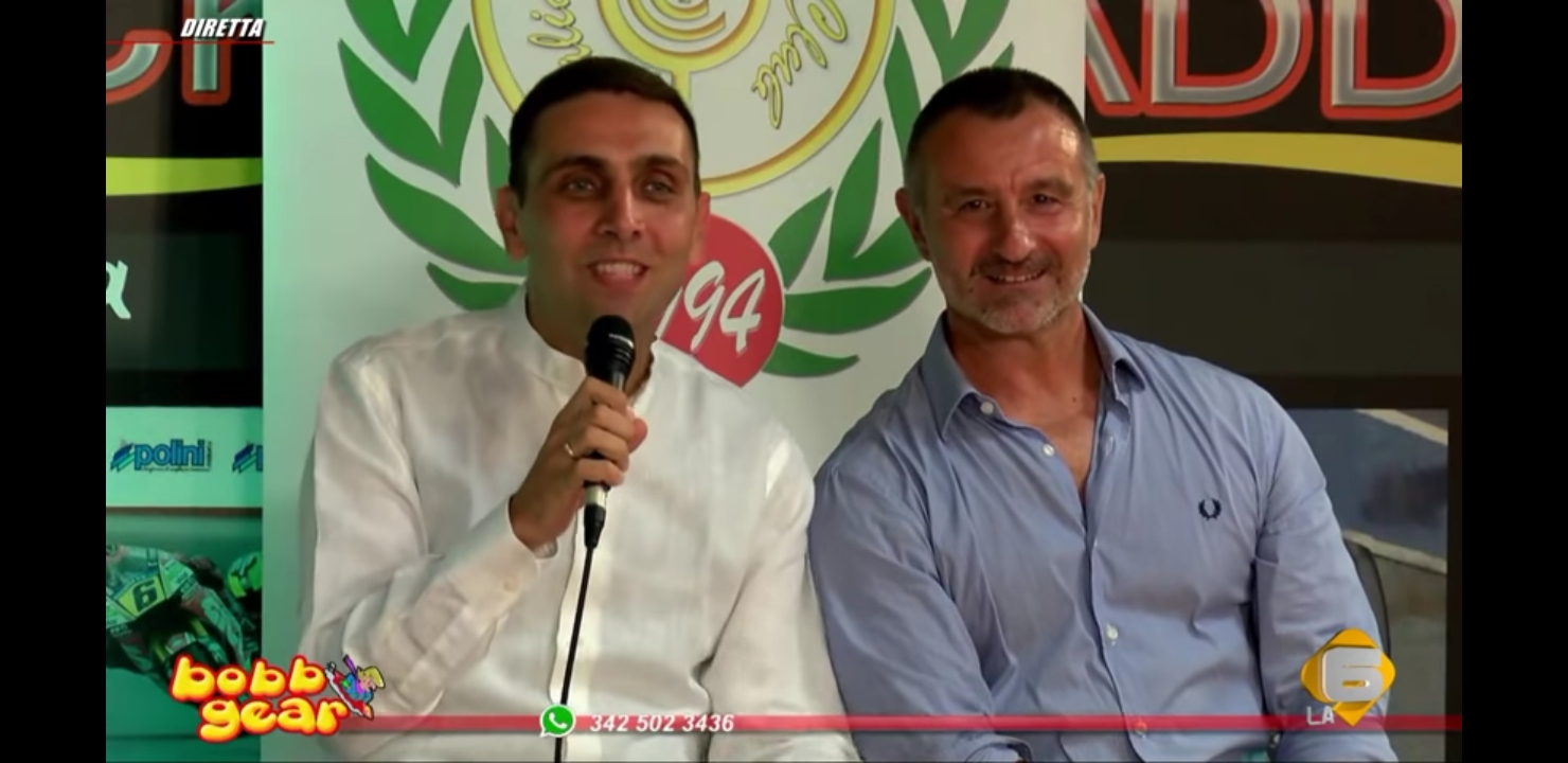 L'influencer Luigi Barbetta e Dario Contin del Clussic Club Italia a Bobbgear