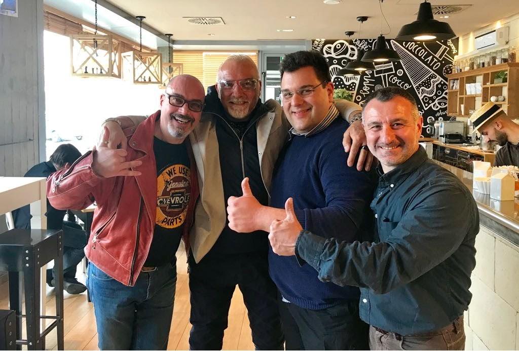 Mauro Valli, Gabriele Sirtori e Dario Contin
