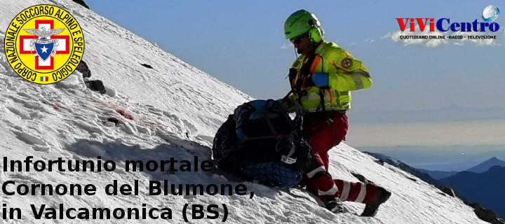 Infortunio mortale sul Cornone del Blumone in Valcamonica (BS)