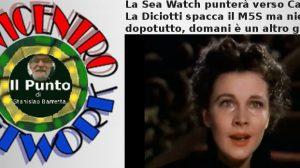 La Sea Watch punterà verso Catania