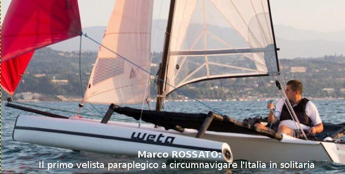 Marco Rossato tra i 100 velisti più forti d'Italia