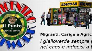 Migranti, Carige e Agricoltori