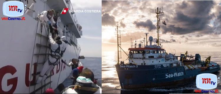 Nave Diciotti e Sea Watch