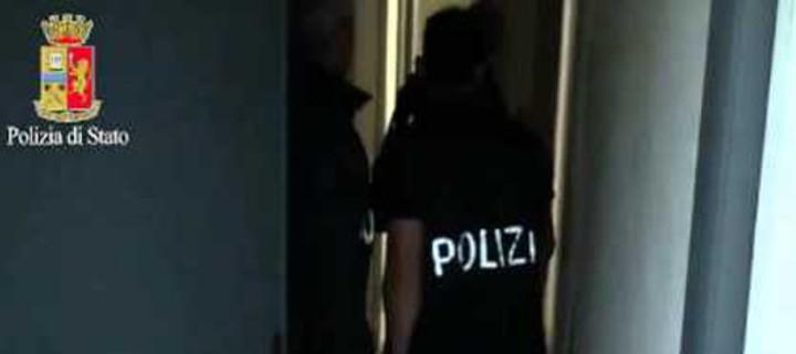 Operazione di polizia contro il caporalato