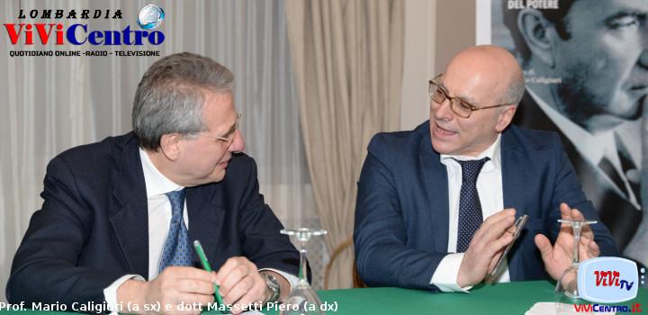 Prof. Mario Caligiuri (a sx) e dott Massetti Piero (a dx)