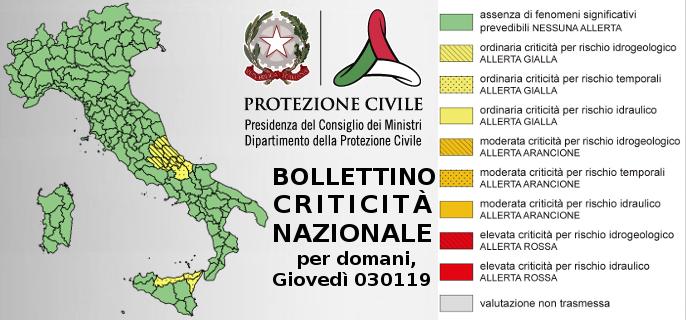 Protezione civile x 030119