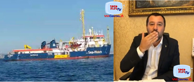 Salvini su Sea Watch 3 260119