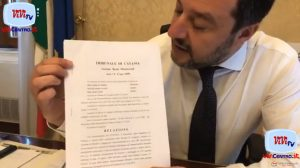 Salvini, viceministro nel governo Gialloverde, su rinvio a giudizio per Nave Diciotti