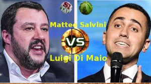 Salvini vs Di Maio TAV vs Cannabis