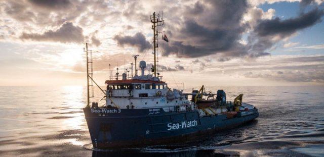 Ispezione a bordo della Sea Watch 3