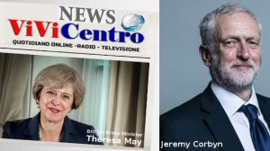 Theresa May e Jeremy Corbyn, scontro su Brexit