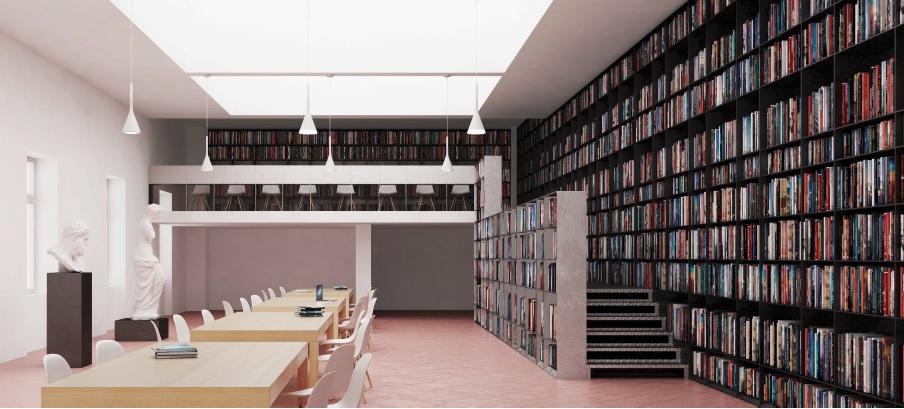 progetto biblioteca palazzo criscuolo torre annunziata