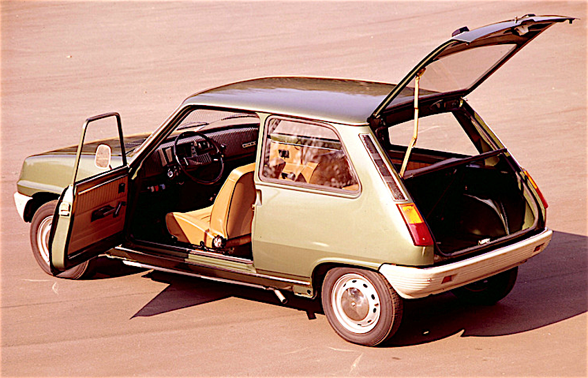 Renault 5 portellone
