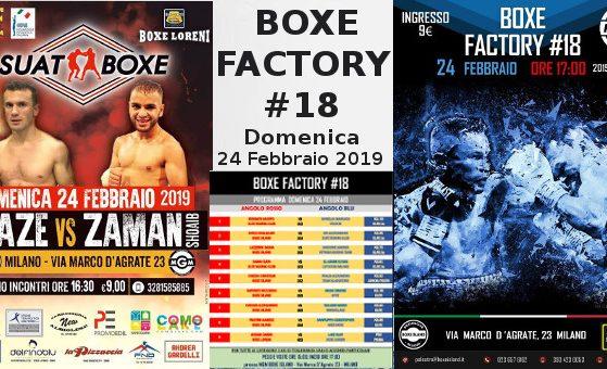 BOXE FACTORY #18