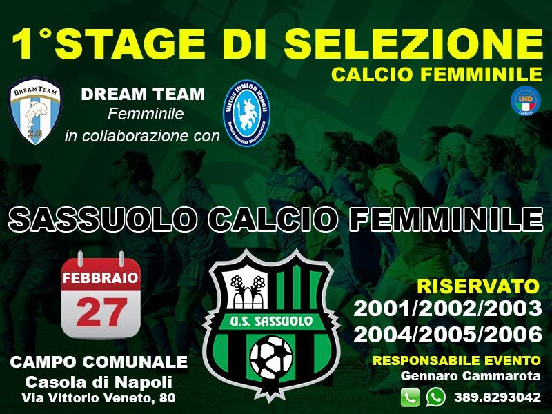 Calcio Rosa - Calcio Femminile - Stage a Casola