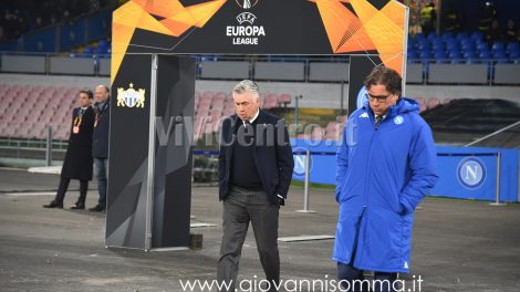Carlo Ancelotti Cristiano Giuntoli