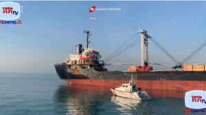 Guardia Costiera, concluso il soccorso al mercantile HALA B