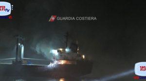 Guardia Costiera soccorso al mercantile HALA B