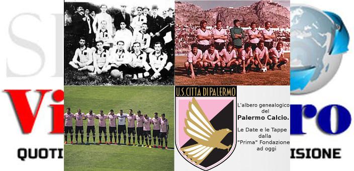 L'albero genealogico del Palermo Calcio