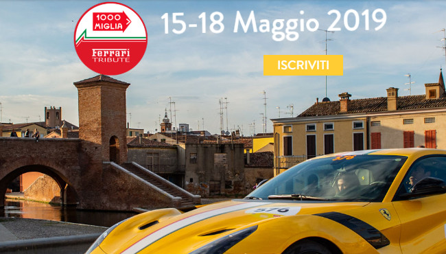Mille miglia 2019, Ferrari