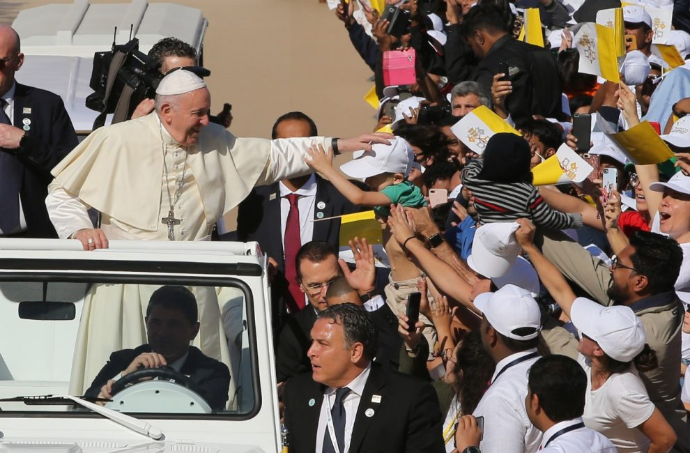 Papa Francesco ad Abu Dhabi