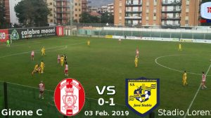 Rende vs Juve Stabia 0-1 030219
