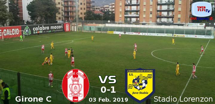 Rende vs Juve Stabia 0-1 030219