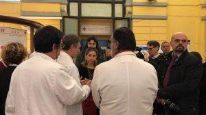 Roma ,Blitz del ministro Giulia Grillo