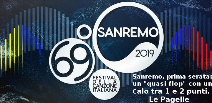 Sanremo 2019 - Prima serata