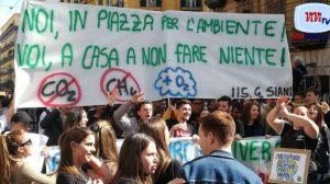 Ambiente, energia pulita - Manifestazione a Napoli 150319