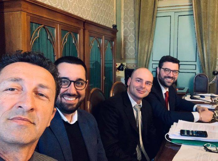 Ars Luigi sunseri, Antonio De luca , Sergio Tancredi,Stefano Zito