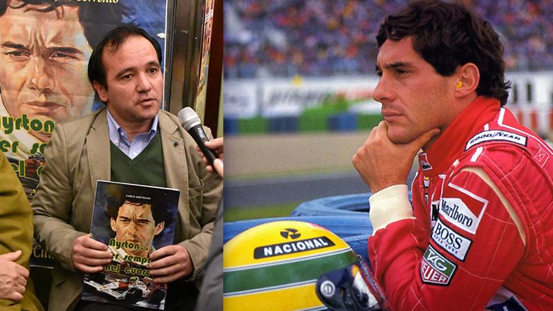Ayrton Senna Carlo Ametrano 1