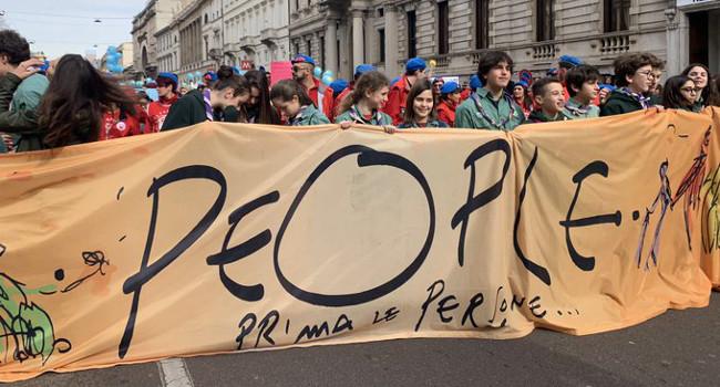 CGIL Lombardia manifestazione #people