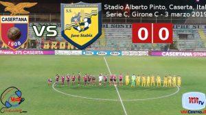Casertana vs Juve Stabia 030319 CRONACA