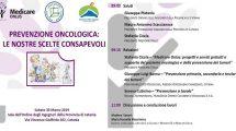 Catania-«prevenzione oncologica le nostre scelte consapevoli»