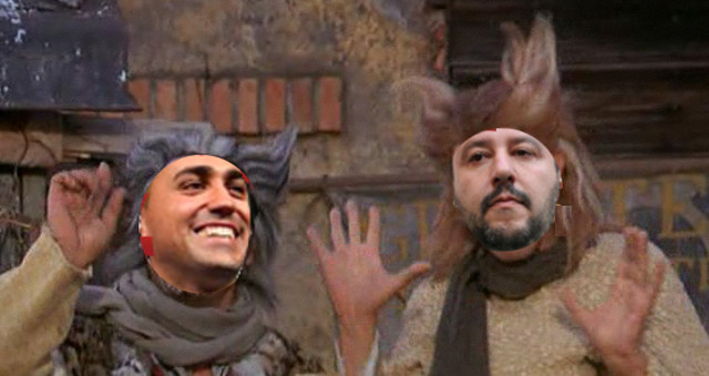 Di Maio e Salvini, il Gatto e la Volpe