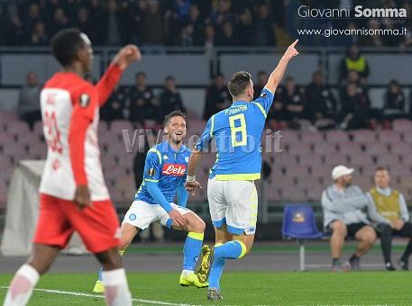 Fabian Ruiz Napoli (2) europa league salisburgo