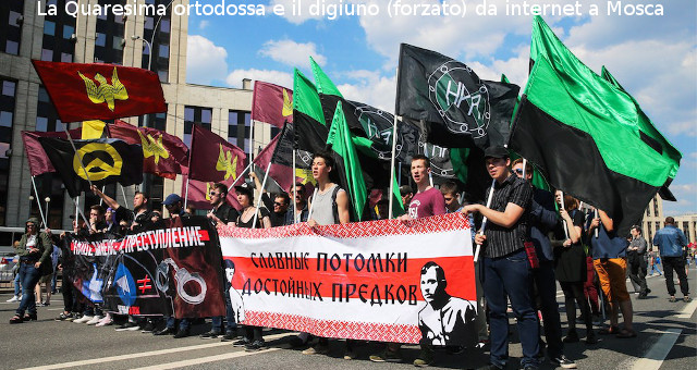 La Quaresima ortodossa e il digiuno (forzato) da internet a Mosca
