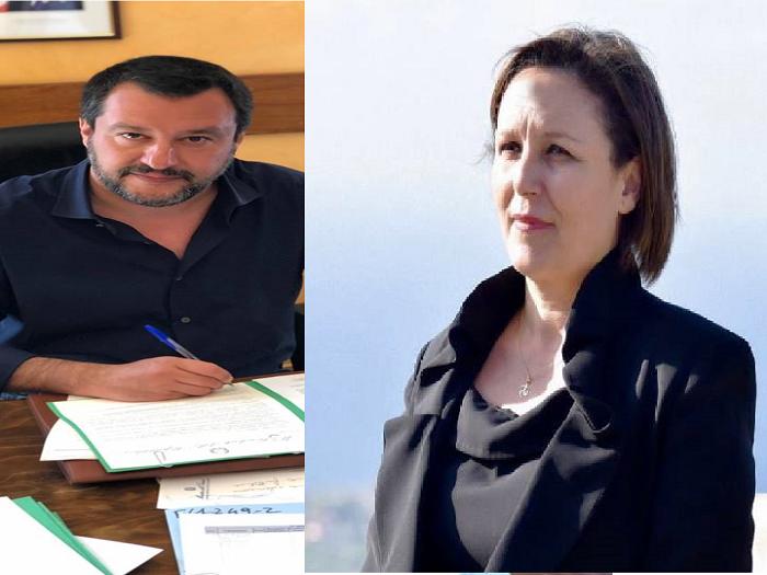 """Piera Aiello M5S:Come mai il Viminale non si è costituito parte civile nel processo """"Montante"""""""