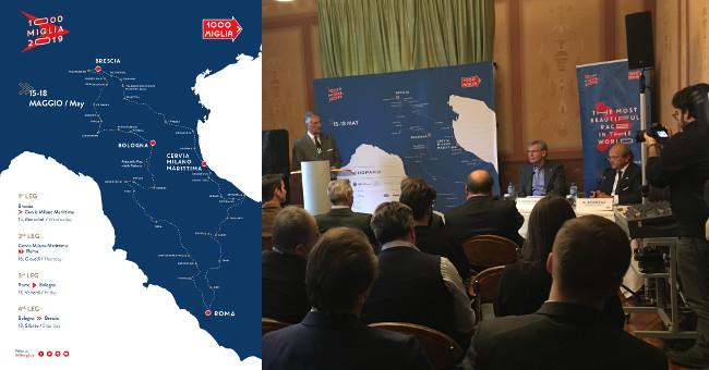 Roadmap 1000 Miglia 2019