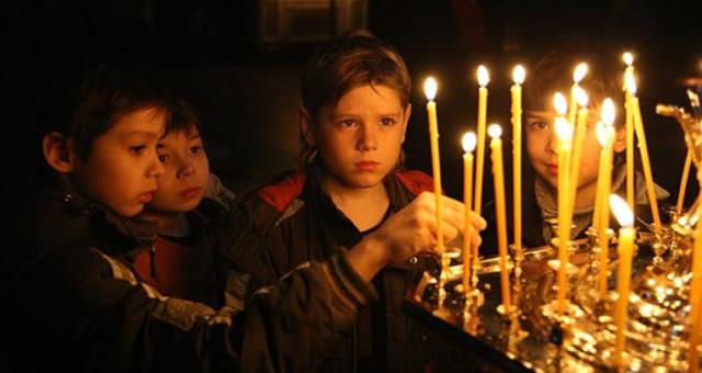 Quaresima Russia-Lent-children