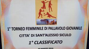 Sant'Alessio Siculo (ME)1° Torneo Giovanile di Volley Femminile (VIDEO)